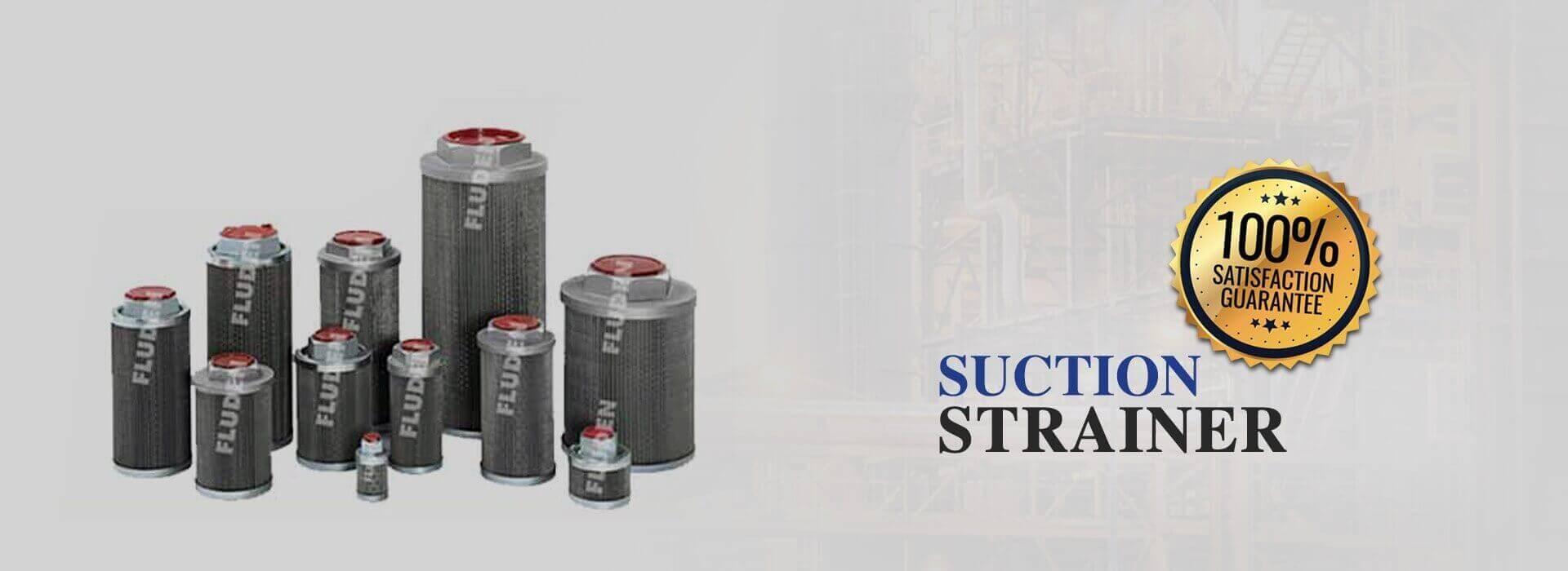 Inline Filter Elements, Suction Strainer